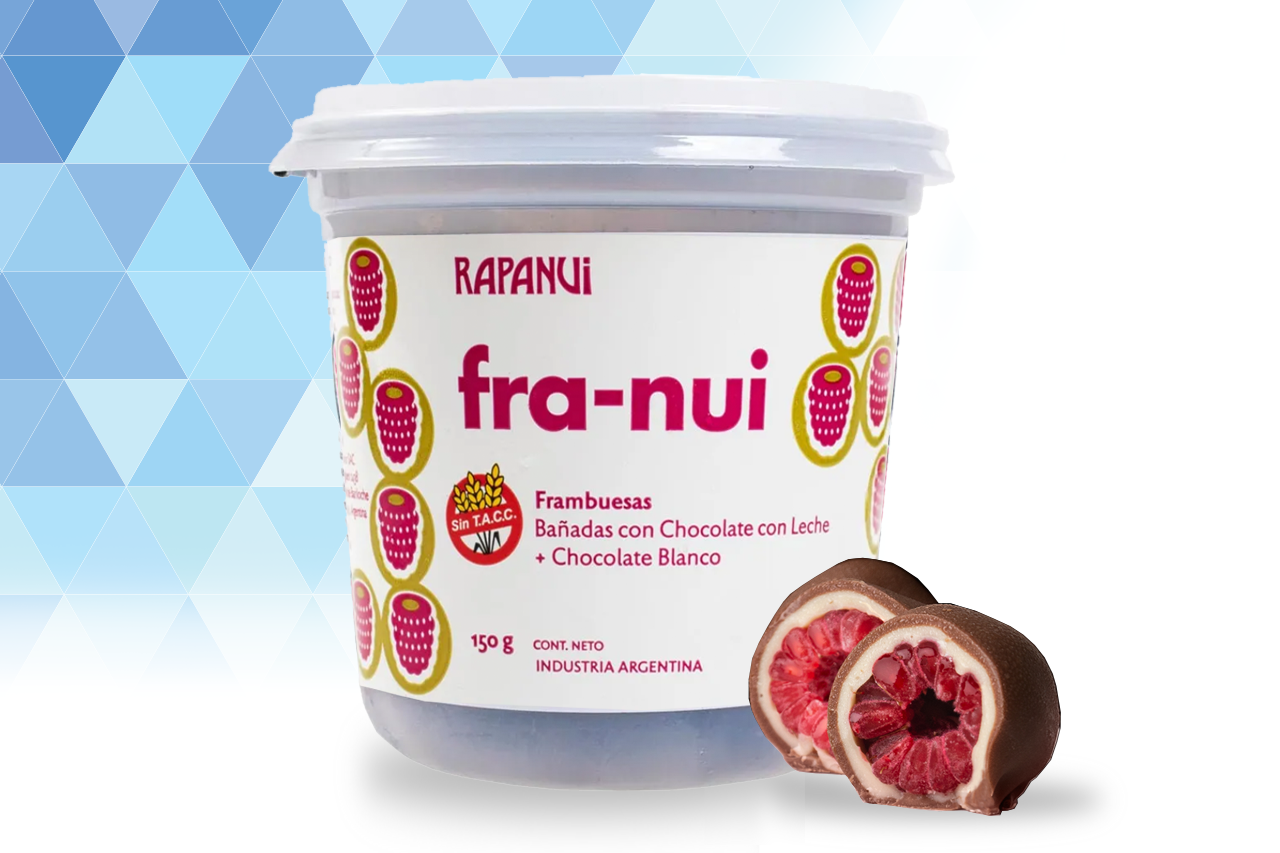 Franui Chocolate con Leche & Blanco 150gr G
