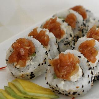 Roll Salmon Piqué